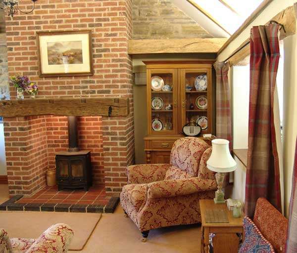 Woodview Cottages sitting room