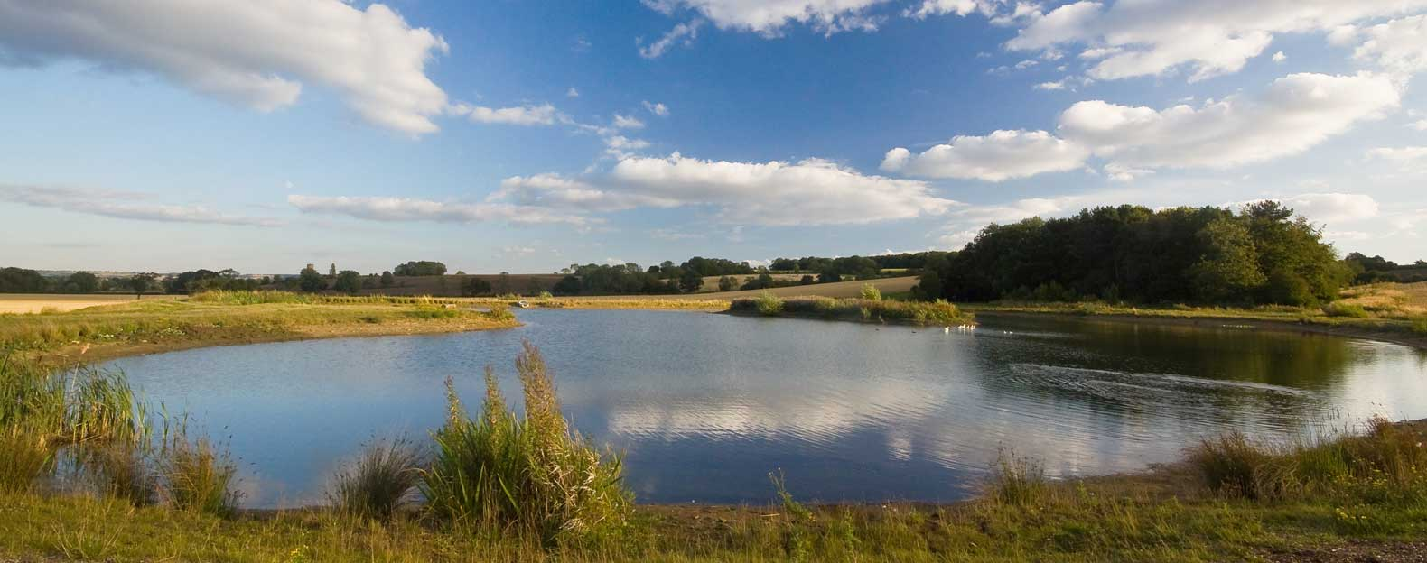 Woodview Cottages fishing lakes